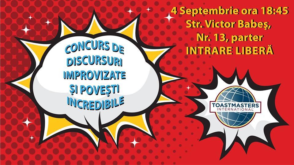 concurs public speaking cluj napoca, toastmasters cluj napoca, curs oratorie cluj napoca, arta de a vorbi in public